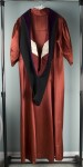 Graduation gown: after treatment